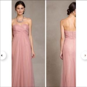 Jenny Yoo Annabelle dress in whipped apricot